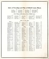 Index, DeKalb County 1929